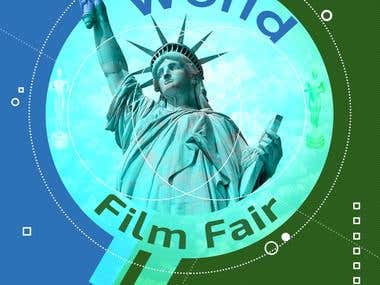 World Film Fair - Poster & Flyer Design