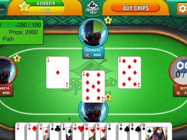 Multiplayer cards game