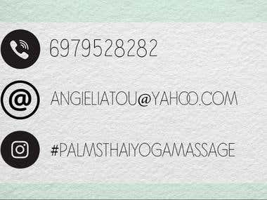 Clean Minimal business card!
