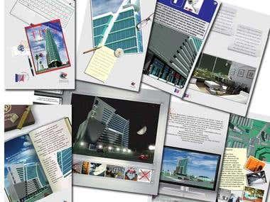 Brochure design - Prestige developer
