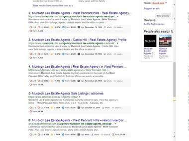 SEO for Australian Real Estate Website