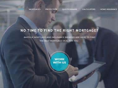 Bastill Mortgage - Web Development