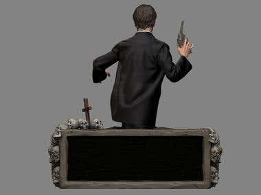 Michele Soavi - Cemetery man 3D model