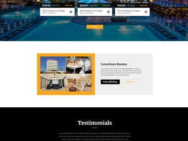 Hotel Booking Website