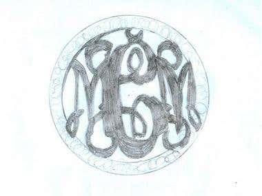 pencil art logos