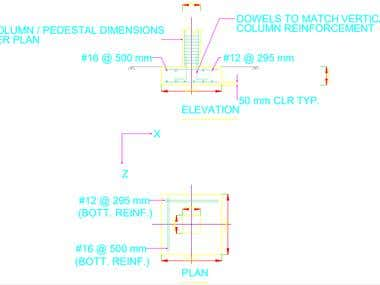 Foundation detailing