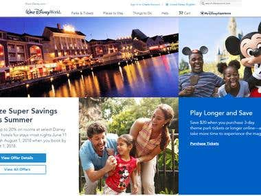 Walt Disney Parks and Resorts Online.(ZendFramework)