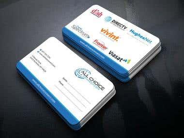 Generic business card