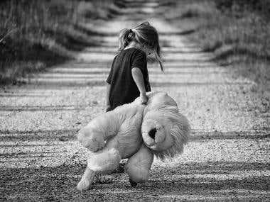 Fotografía a blanco y negro -ANTES
