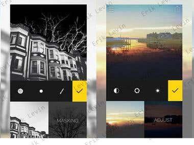 Photo Editing iOS App