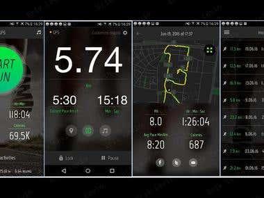 GPS Tracking iOS App & Apple Watch App