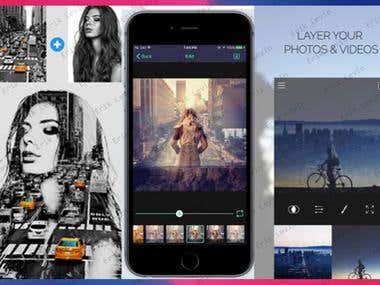 Image filtering mobile app