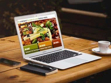 Restauarant website
