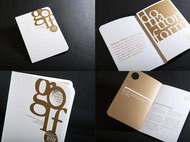 Graphic design, brochure, advertisement, packaging, layout