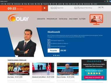 Olay TV Website