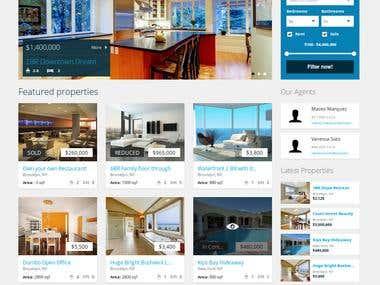 Propertizr - Real estate site