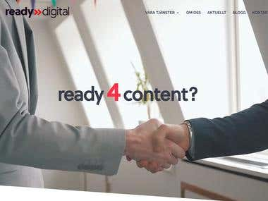Ready4Digital Business Website