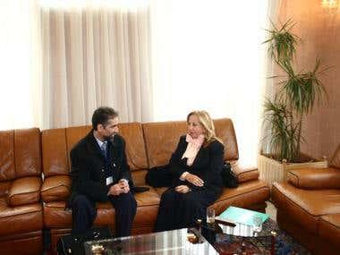 Embajadora de Chile en Marruecos
