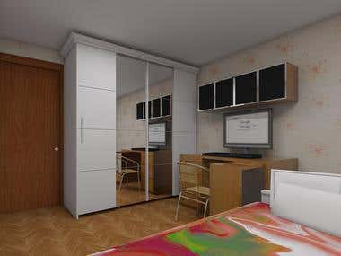 Modeling & Rendering interior