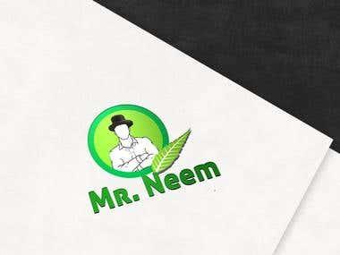 Mr. Neem Band Logo