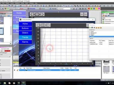 HMI SCADA Youtube Tutorials, Using C-more EA9 software