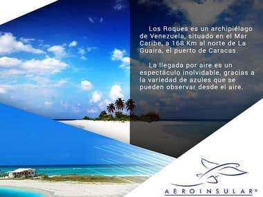 Aeroinsular Travel Agency - social media