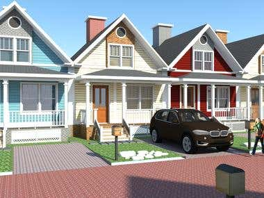 Residential in American Concept