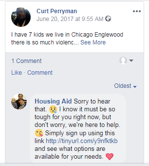 Housing Aid - Facebook Page Moderator