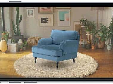 Augmented Reality Interior Design