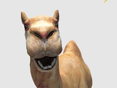 Camel 3d design