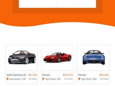 Buy & Sell Motor Parts Website