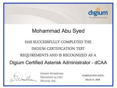 Digium Certification