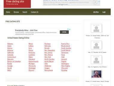 Node js dating site