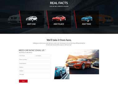 WordPress- Car services