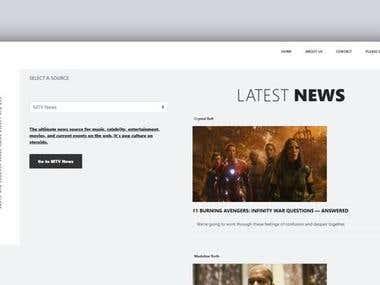 News API site