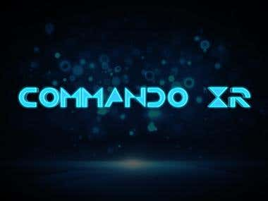 Commando XR 3D Logo