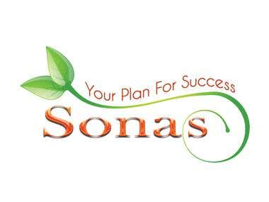 Sonas Logo Design
