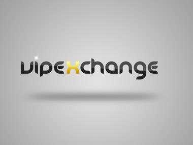 Vipexchange Logo Design