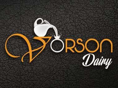 Vorson Dairy - Logo