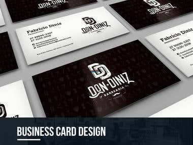 BUSINESS CARD DESIGN - DON DINIZ BARBER