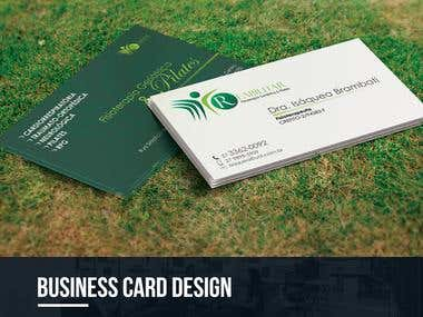 BUSINESS CARD DESIGN - REABILITAR FISIOTERAPIA