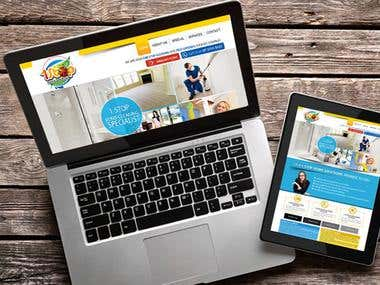 Cleaning Company Website