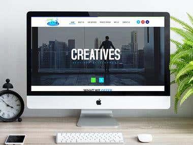 Business Services Website Design