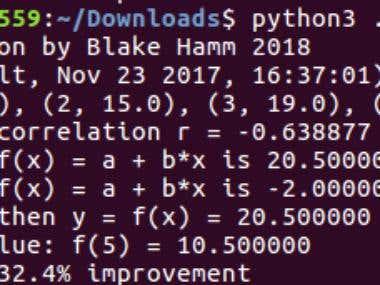Linear Regression Python