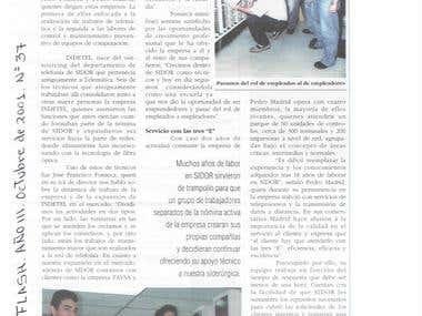 Reportaje sobre Microempresas en Ternium Sidor