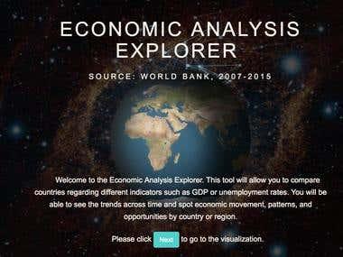 Economic Analysis Explorer (POC)