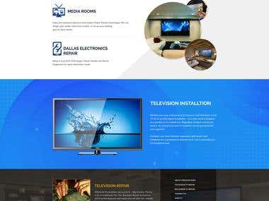 Preston TV Design