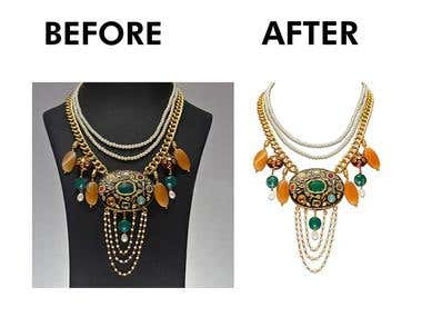 Jewelry Background Remove