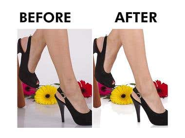 Retouch, Background Clean & Skin Smoothnees
