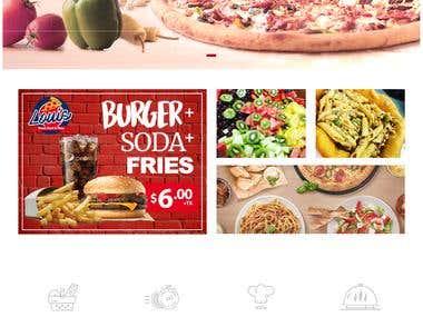 Online Fast Food Ordering